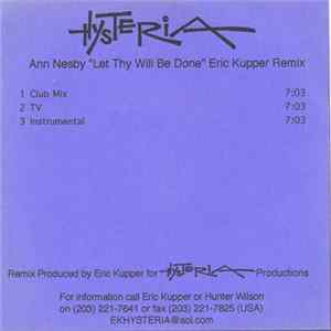 Ann Nesby - Let Thy Will Be Done (Eric Kupper Remix)