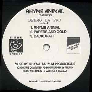 Rhyme Animal Featuring Deemo Da Pro - Untitled